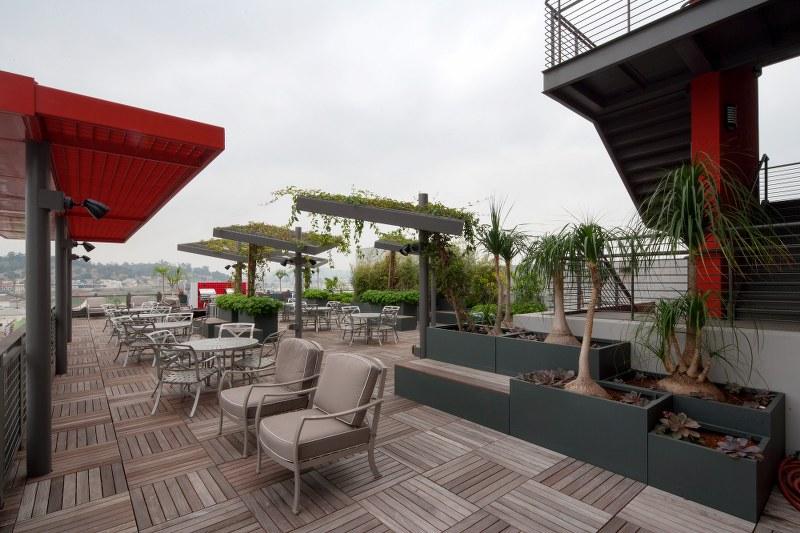 Metro China town senior lofts terrace view3